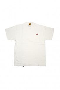 Human Made Slub Cotton T-Shirt - Pocket Peek / White - Image 0