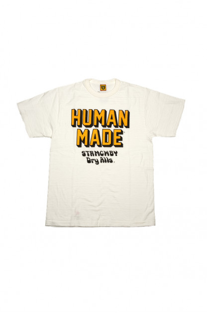 Human Made Slub Cotton T-Shirt - STRMCWBY