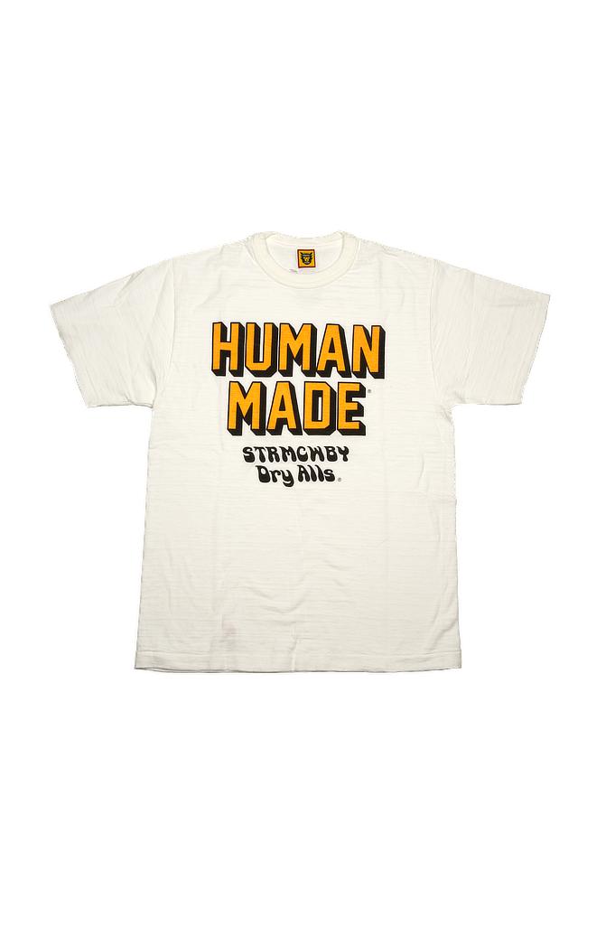 Human Made Slub Cotton T-Shirt - STRMCWBY - Image 0