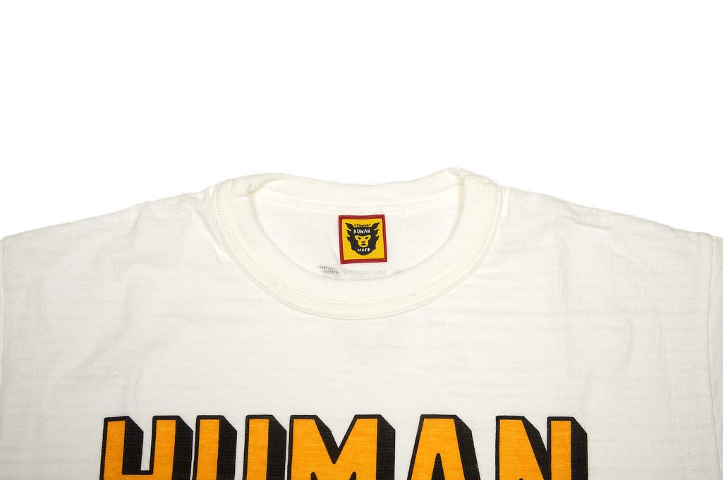 Human Made Slub Cotton T-Shirt - STRMCWBY - Image 1
