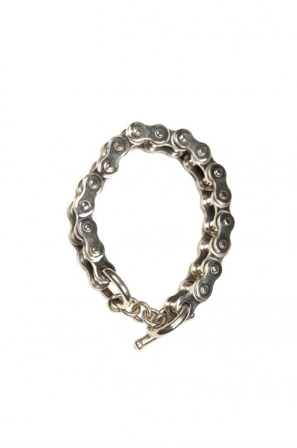 Iron Heart Sterling Silver Bracelet