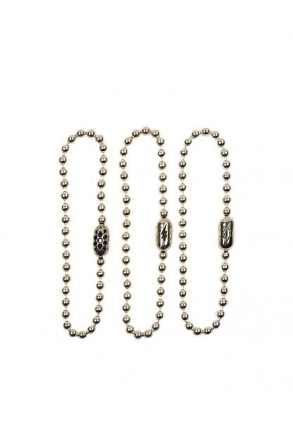 Good Art #10 Ball Chain Bracelet w/ Motif Connector