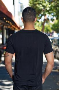 Merz. B Schwanen 2-Thread Heavy Weight T-Shirt - Deep Black Pocket - Image 1