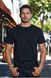 Merz. B Schwanen 2-Thread Heavy Weight T-Shirt - Deep Black - Image 0