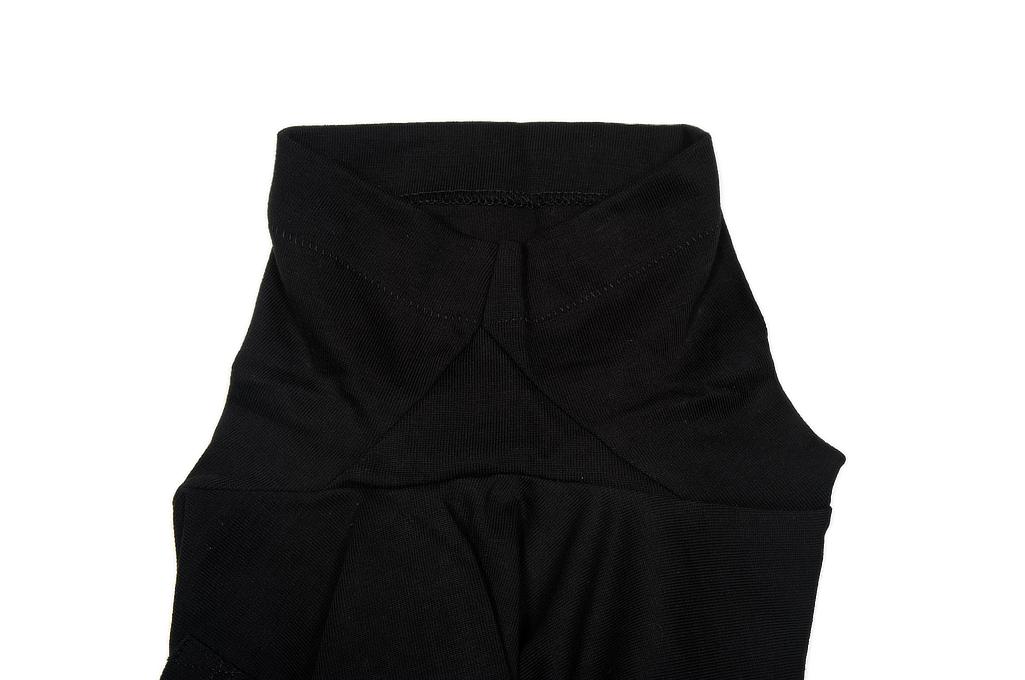 Merz. B Schwanen 2-Thread Heavy Weight T-Shirt - Deep Black - Image 5