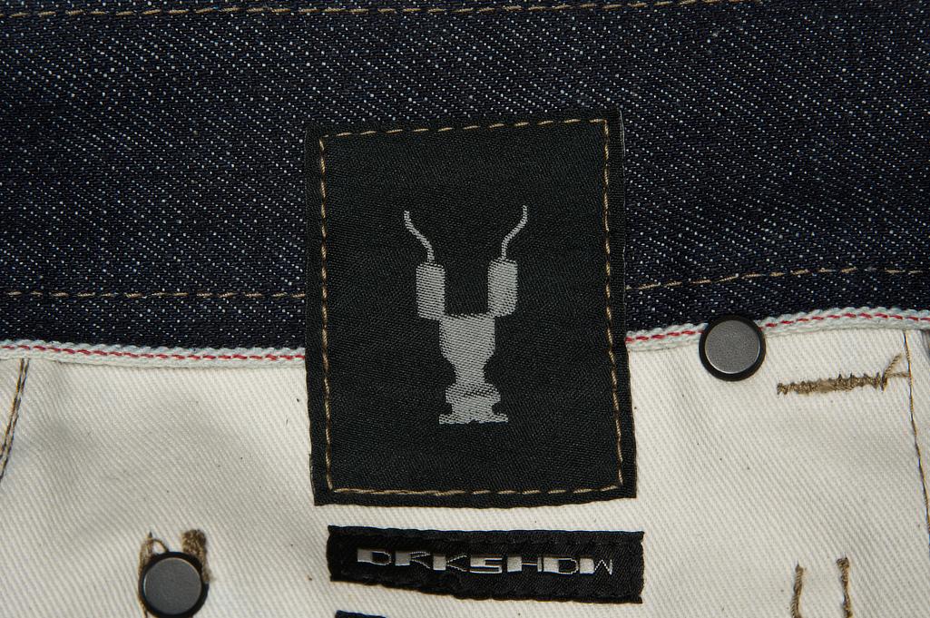 Rick Owens DRKSHDW Detroit Jeans - Made In Japan Indigo - Image 13