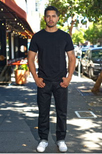 Rick Owens DRKSHDW Detroit Jeans - Made In Japan Black Waxed - Image 0