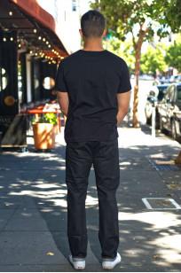 Rick Owens DRKSHDW Detroit Jeans - Made In Japan Black Waxed - Image 1
