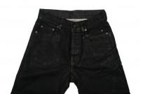 Rick Owens DRKSHDW Detroit Jeans - Made In Japan Black Waxed - Image 3