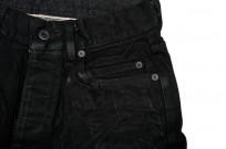 Rick Owens DRKSHDW Detroit Jeans - Made In Japan Black Waxed - Image 5