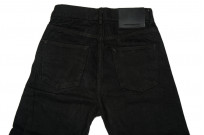 Rick Owens DRKSHDW Detroit Jeans - Made In Japan Black Waxed - Image 8