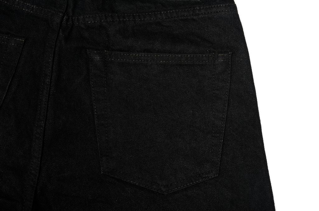 Rick Owens DRKSHDW Detroit Jeans - Made In Japan Black Waxed - Image 9