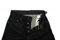 Rick Owens DRKSHDW Detroit Jeans - Made In Japan Black Waxed - Image 12