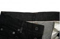Rick Owens DRKSHDW Detroit Jeans - Made In Japan Black Waxed - Image 13