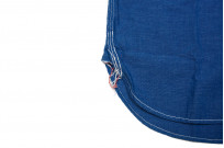 Sugar Cane Long Sleeve Workshirt - Vat Dyed Selvedge Chambray - Image 5