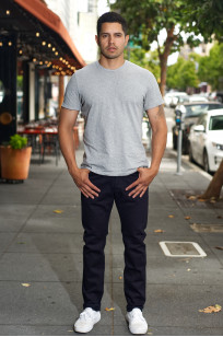 Pure Blue Japan XX-18oz-019/IDBK Jeans - Straight Tapered Overdyed Warp - Image 0