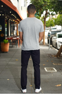 Pure Blue Japan XX-18oz-019/IDBK Jeans - Straight Tapered Overdyed Warp - Image 1