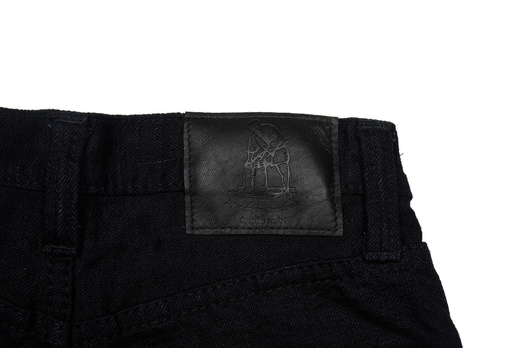Pure Blue Japan XX-18oz-019/IDBK Jeans - Straight Tapered Overdyed Warp - Image 7