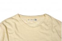 Merz B. Schwanen Loopwheeled T-Shirt - Merino Wool Natural - Image 3