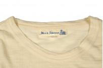 Merz B. Schwanen Loopwheeled T-Shirt - Merino Wool Natural - Image 4
