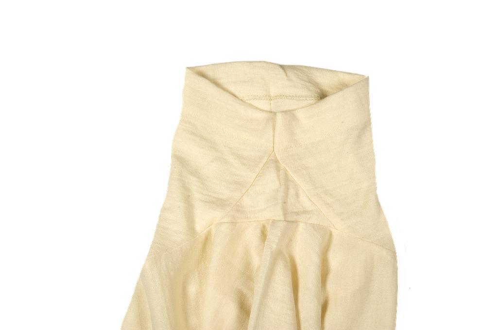 Merz B. Schwanen Loopwheeled T-Shirt - Merino Wool Natural - Image 6