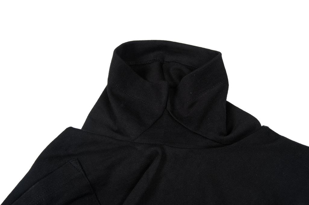 Merz B. Schwanen Loopwheeled Pocket T-Shirt - Super Heavy Black - Image 6