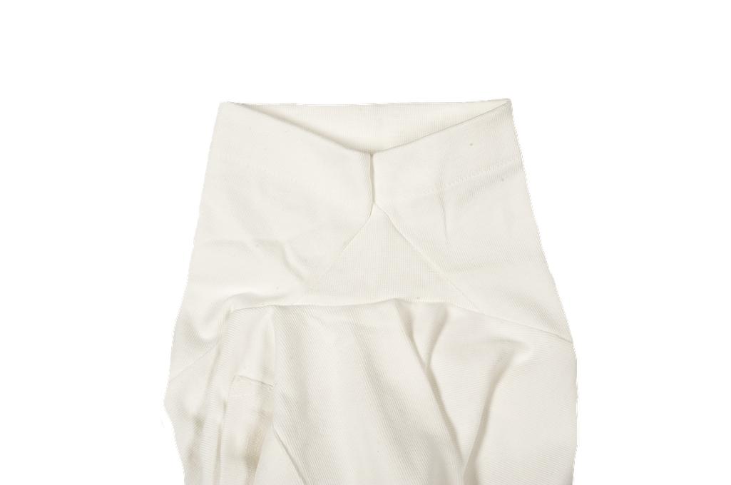 Merz B. Schwanen Loopwheeled Pocket T-Shirt - Super Heavy White - Image 6