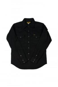 Iron Heart Ultra-Heavy Flannel - Black Herringbone - Image 0