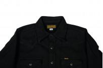 Iron Heart Ultra-Heavy Flannel - Black Herringbone - Image 1