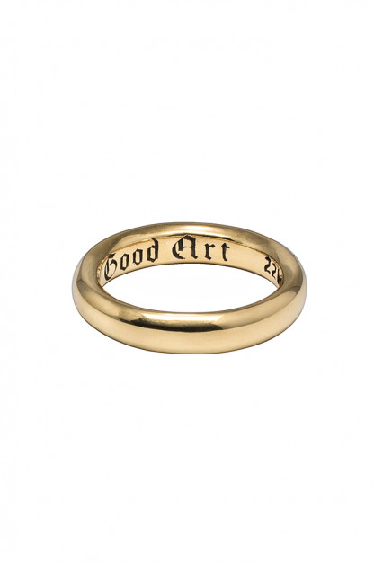 Good Art Spacer Ring - 22k Gold