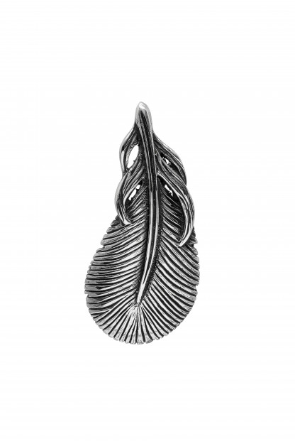 Good Art Feather Pendant