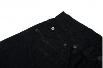 Pure Blue Japan 1143 Light Weight 12oz Jeans - Straight Tapered Black - Image 4