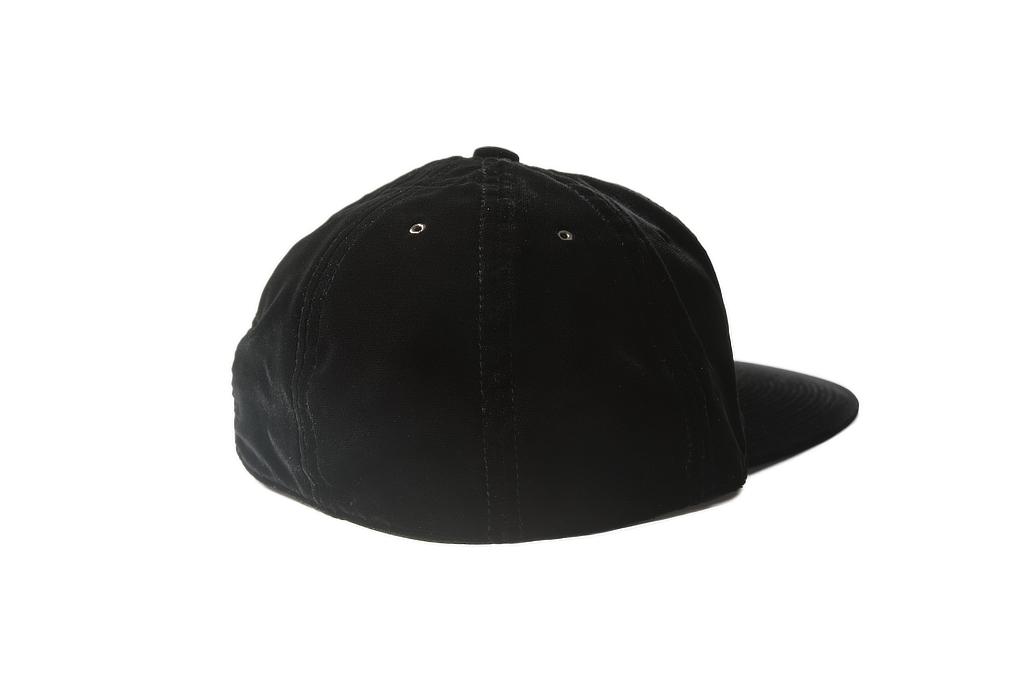 Poten Japanese Made Cap - Black Velvet - Image 1
