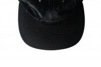 Poten Japanese Made Cap - Black Velvet - Image 3