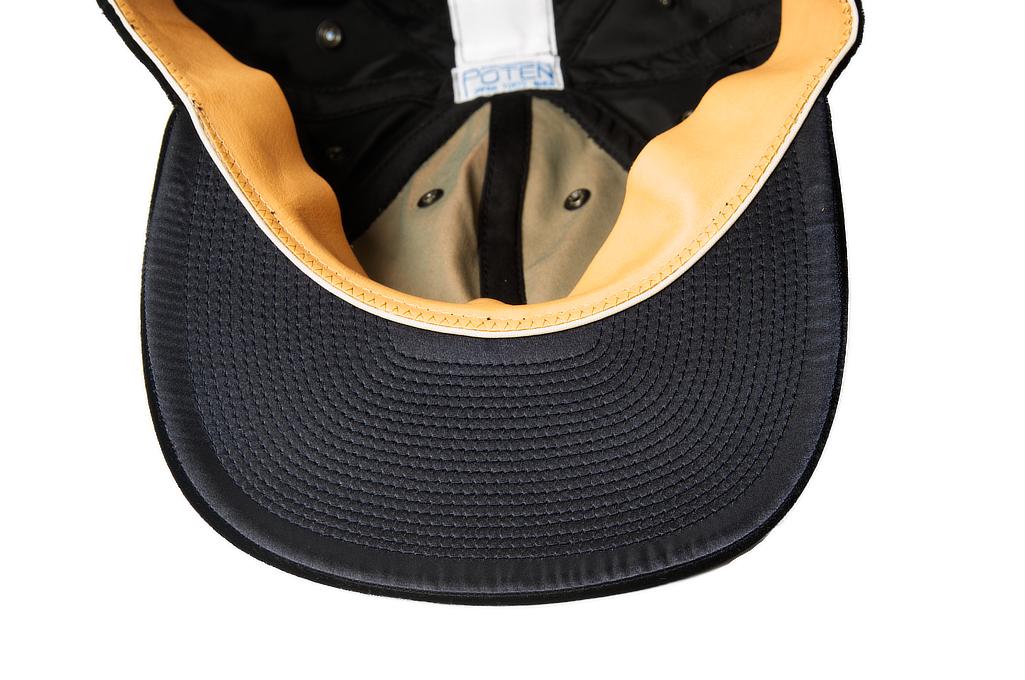Poten Japanese Made Cap - Black Velvet - Image 4