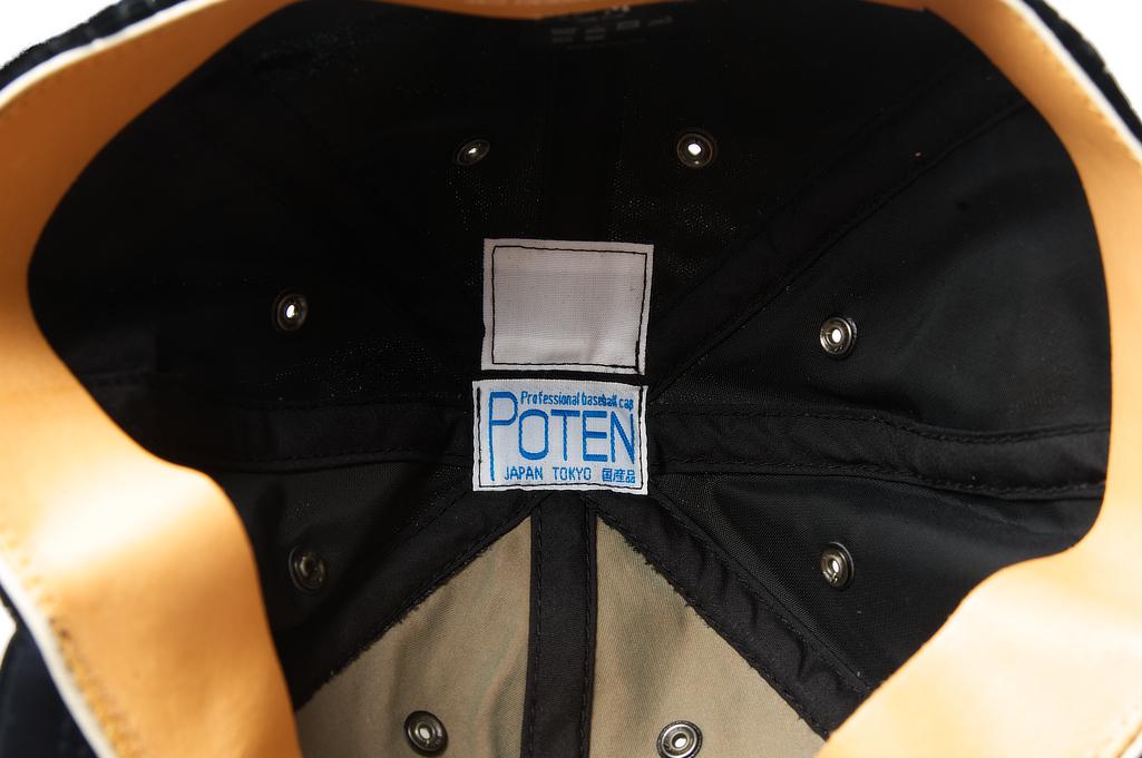 Poten Japanese Made Cap - Black Velvet - Image 5