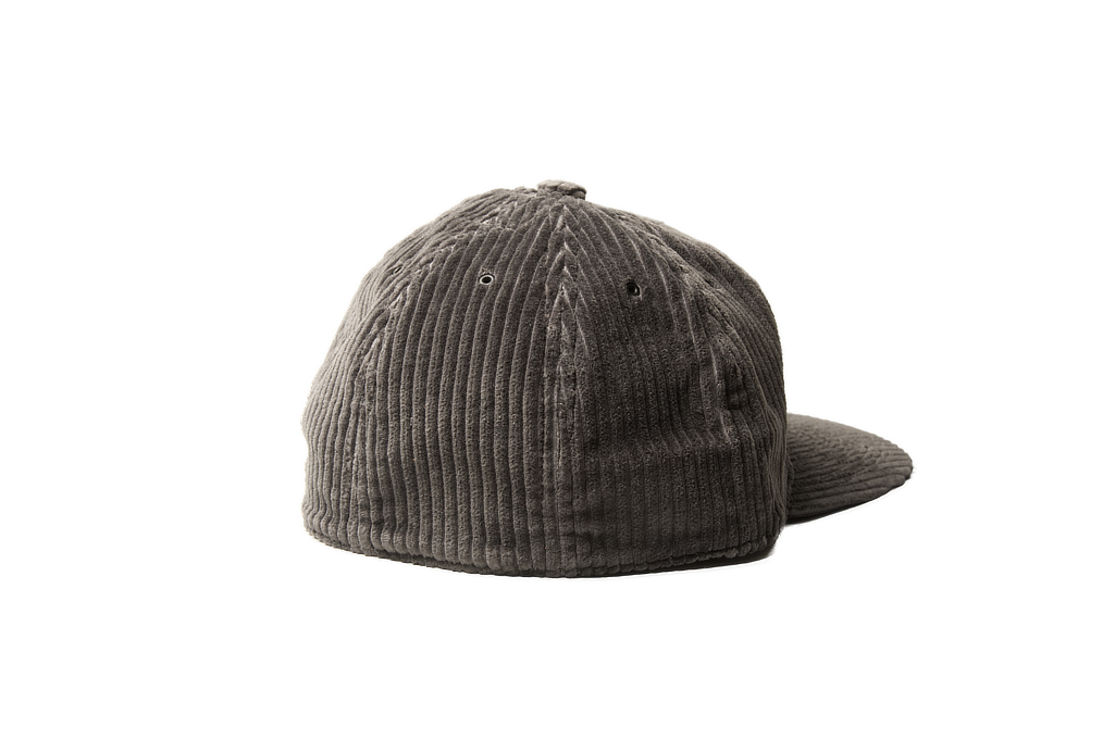 Poten Japanese Made Cap - Gray Cord - Image 1