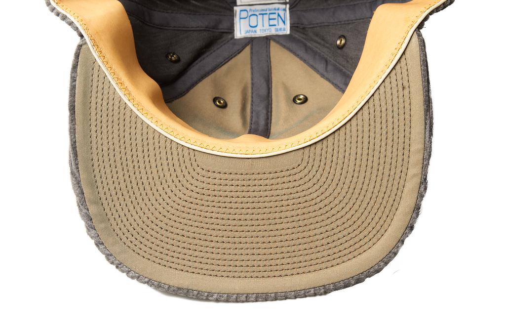 Poten Japanese Made Cap - Gray Cord - Image 4