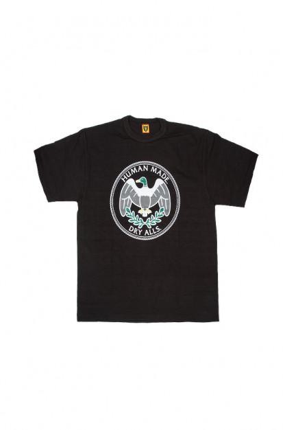 Human Made Slub Cotton T-Shirt - Flying Emblem