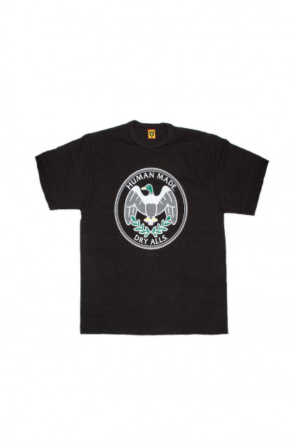 Human Made Slub Cotton T-Shirt - Flying Emblem