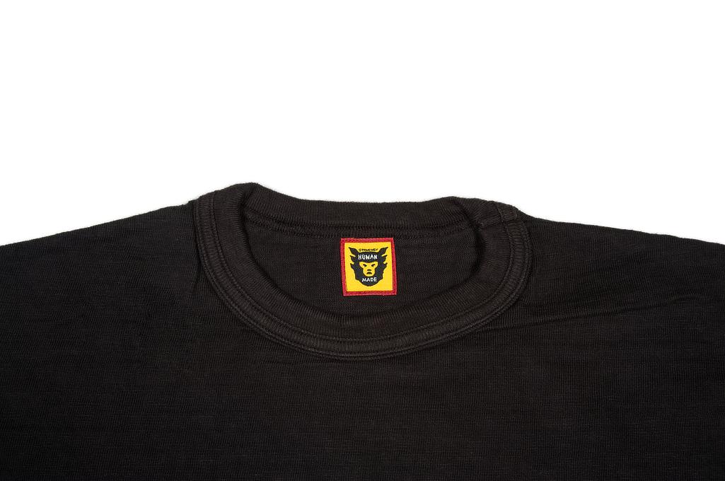 Human Made Slub Cotton T-Shirt - Flying Emblem - Image 1