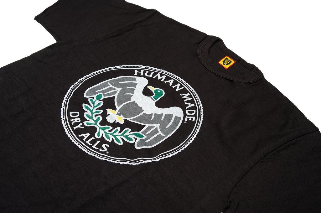 Human Made Slub Cotton T-Shirt - Flying Emblem - Image 2