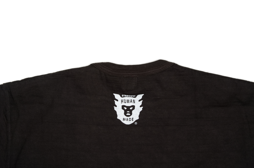 Human Made Slub Cotton T-Shirt - Flying Emblem - Image 4