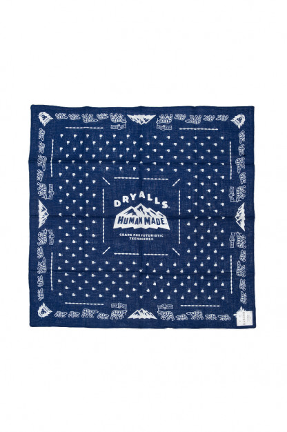 Human Made Mount HM Navy Bandana