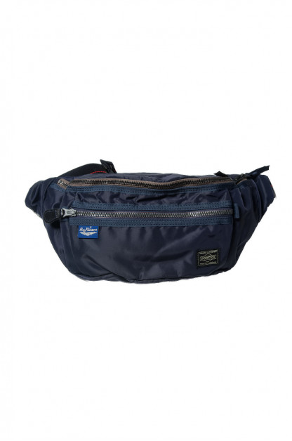 Buzz Rickson x PORTER Waist/Shoulder Bag - Navy
