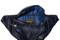 Buzz Rickson x PORTER Waist/Shoulder Bag - Navy - Image 5