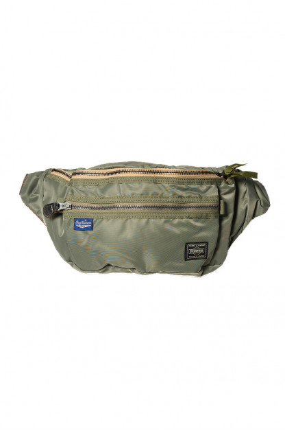 Buzz Rickson x PORTER Waist/Shoulder Bag - Sage Green