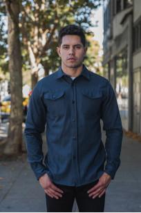 3sixteen CPO Shirt - Navy Twill - Image 0