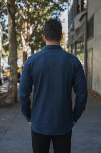 3sixteen CPO Shirt - Navy Twill - Image 1