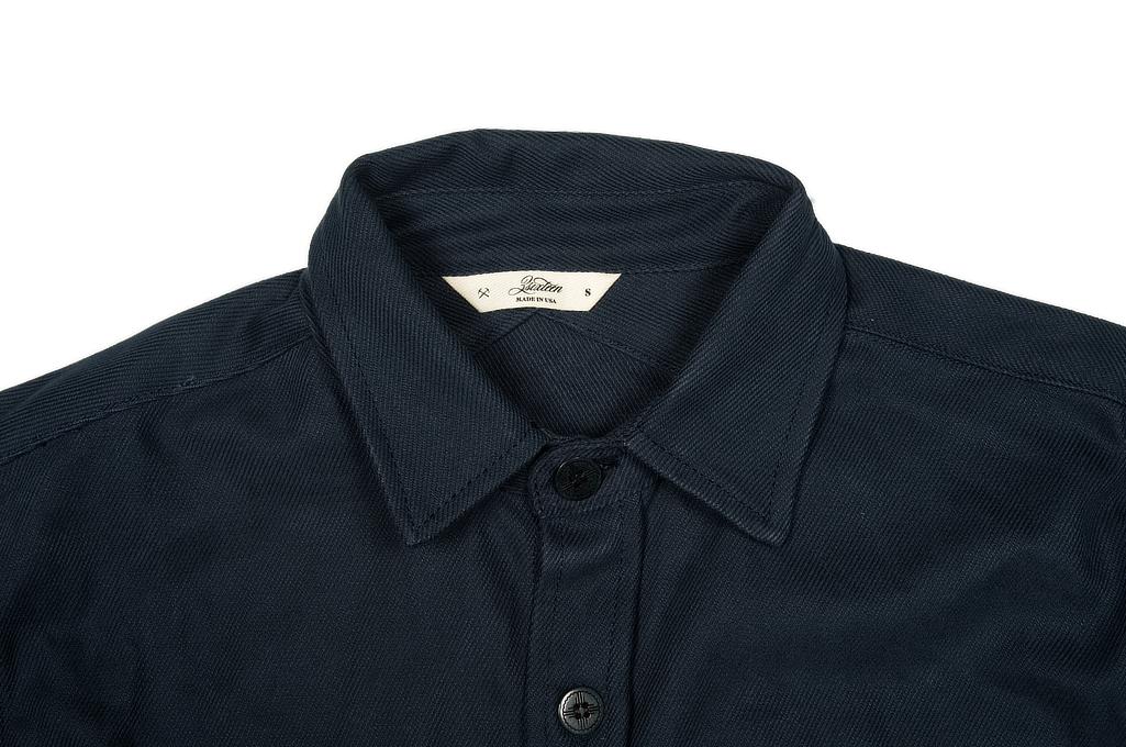 3sixteen CPO Shirt - Navy Twill - Image 3